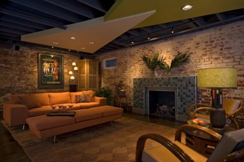 Award-winning basement and bath remodel
